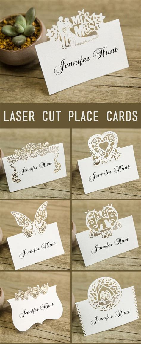 how to make wedding place cards best 25 wedding place cards ideas on place