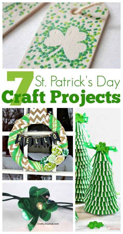 7 St S Day Craft Projects The Crafty Stalker