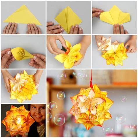 paper origami decorations diy origami kusudama decoration