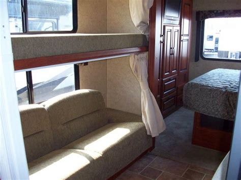 used class a motorhomes with bunk beds used 2011 sun seeker 317ods bunk slide with rear bed