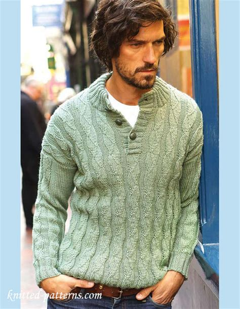 knitted jumpers free pattern s jumper knitting pattern