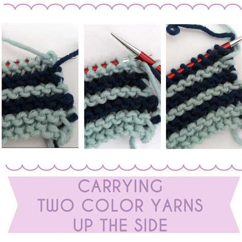 knitting carrying yarn 17 best images about knitting tutes on shorts