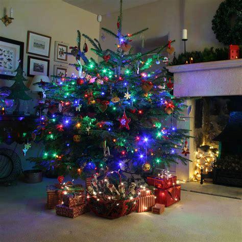 multi coloured led tree lights 240 multi coloured tree lights by lights4fun