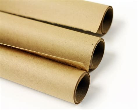 Kraft Paper Roll Brown Gift Wrap Sting Crafts