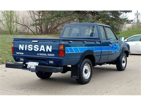 Nissan 4x4 Truck by 1983 Nissan 720 King Cab 4x4 For Sale Classiccars