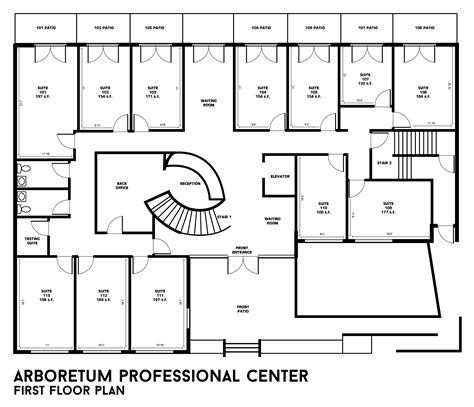 how to design a house floor plan building floor plans arboretum professional center