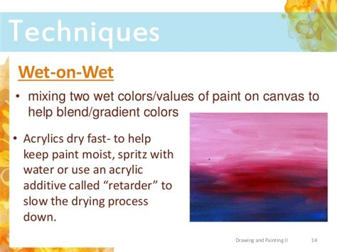 how to blend acrylic paint on canvas acrylic paint tools tips and techniques
