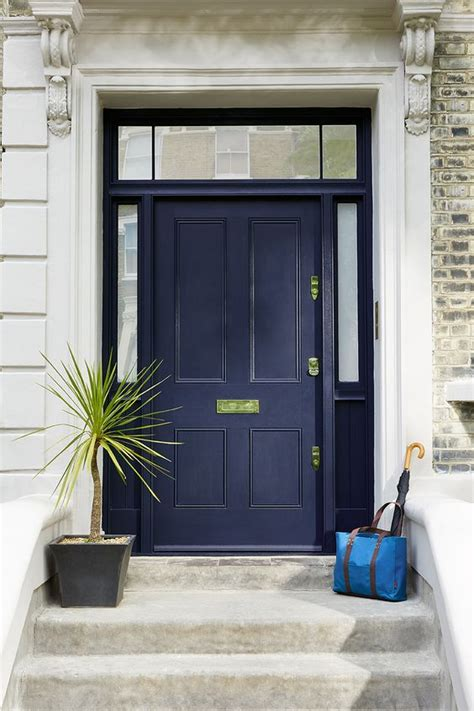 navy blue front doors 27 chic front doors to try for your entry shelterness
