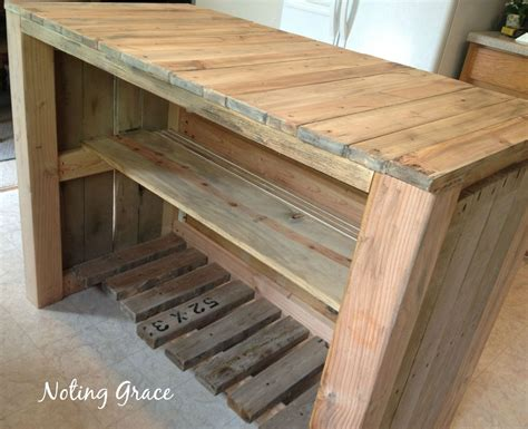 how to build a kitchen island bar how to make a pallet kitchen island for less than 50 hometalk