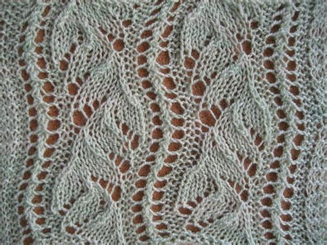 knit lace lace the walker treasury project