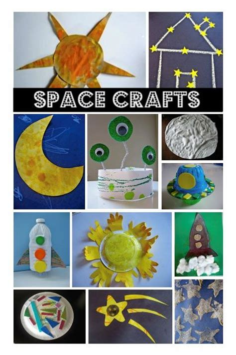 outer space crafts for space crafts preschool themes outer space
