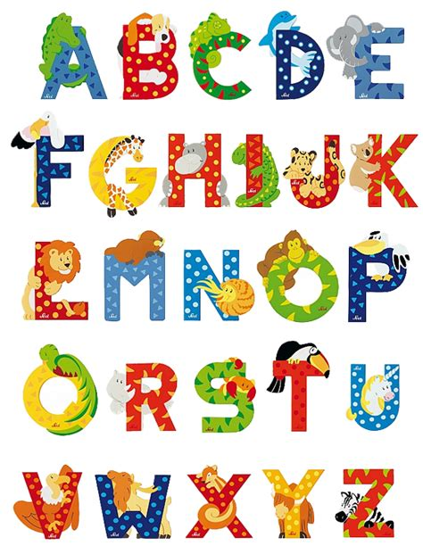 Mario Wall Stickers Uk sevi animal letters animal letters wooden animal letters
