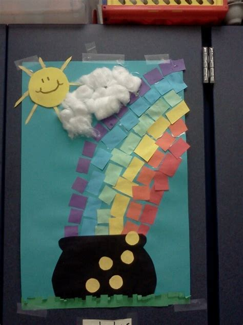 march arts and crafts for march rainbow theme school arts and crafts