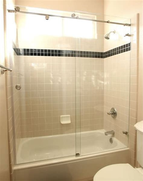 Shower Door Over Bath euro slider shower doors martin shower door