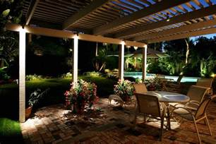 outdoor patio lights pool with lights