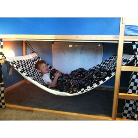 hammock bunk bed made bunk bed hammock made with that ikea bunk