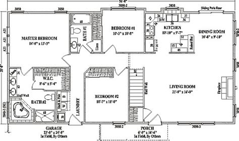 ranch plans with open floor plan open concept ranch floor plans homes floor plans