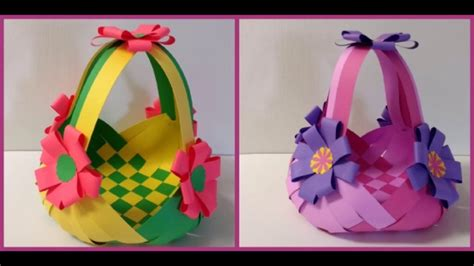 how to do craft for diy and craft tutorial howto make paper basket