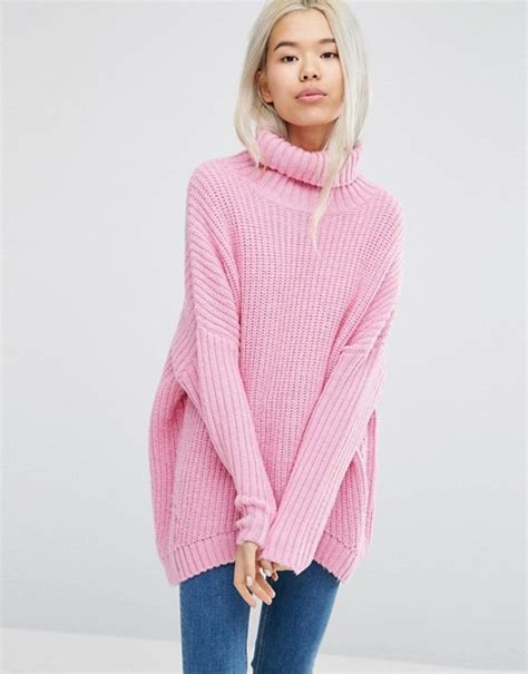 fluffy knit sweater weekday weekday turtleneck fluffy knit sweater