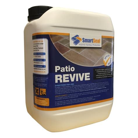 patio sealer review patio cleaner to remove moss and algae smartseal