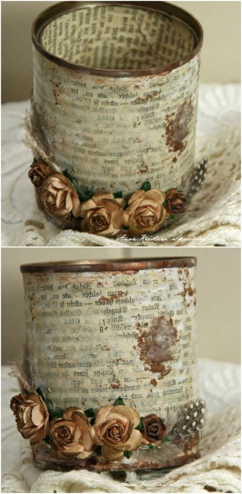 vintage craft supplies 50 jaw dropping ideas for upcycling tin cans into