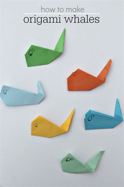 how to make an origami whale origami whale tutorial images