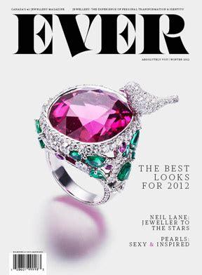 jewelry magazine all that glitters a new consumer jewelry magazine debuts