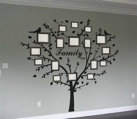 wall decor tree stickers family photo tree wall decal wall decal sticker