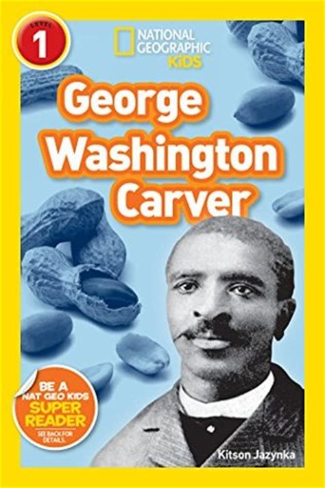 a picture book of george washington carver randomly reading black history month more favorite