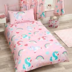 unicorn bedding single duvet cover sets unicorns butterflies