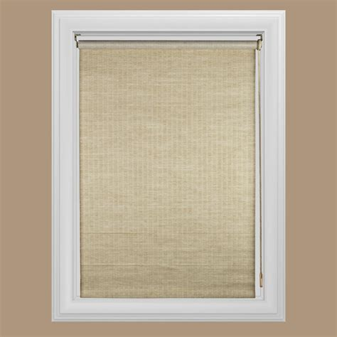 l shades with roller shades blinds window treatments the home depot