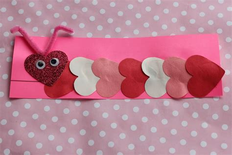 construction paper valentines day crafts the chirping s day ideas for your