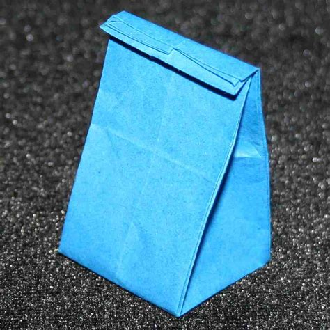 origami lunch bag origami by