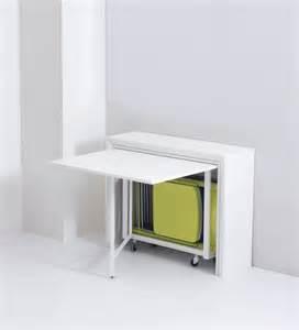 table de cuisine murale rabattable collection avec table pliante avec chaises intagraes photo