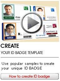 how to make id card id badge maker low cost and professional card
