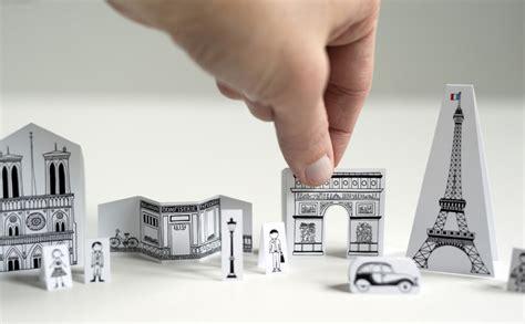 paper craft city travel size paper city