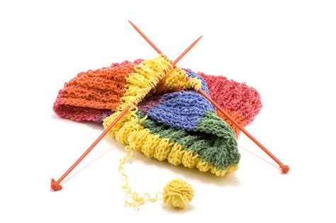 what is knits knitting symbol