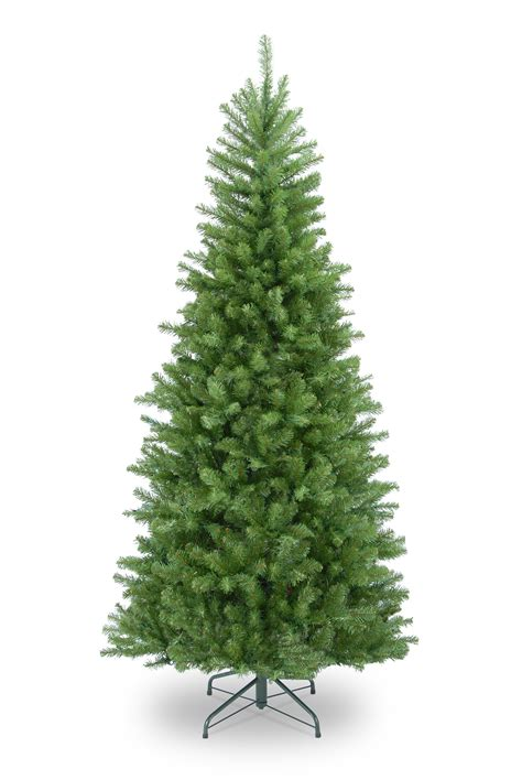 tree 6ft 6ft columbia spruce slim artificial tree