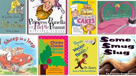 picture books with alliteration rhyming books for children alliteration books for