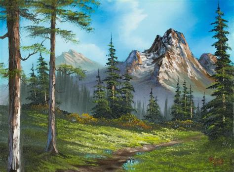 bob ross paintings original for sale bob ross wilderness trail paintings bob ross
