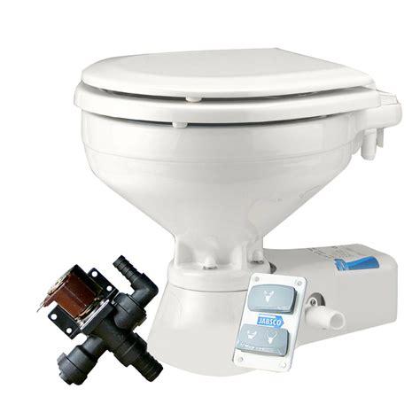 Jabsco Toilet Cleaner by Jabsco Marine 12v Quiet Flush Household Freshwater Toilet