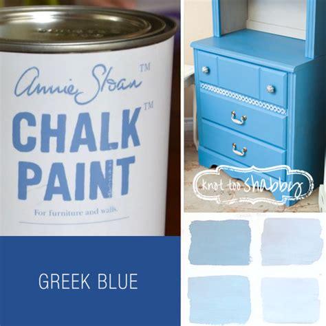 chalk paint blue colors chalk paint 174 decorative paint by sloan knot