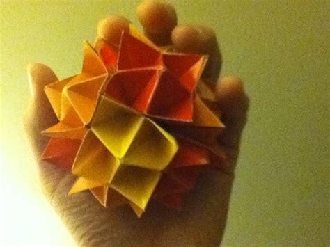 origami spiky origami spiky cuboctahedron