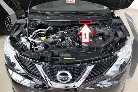 Where Is Vin by Nissan Qashqai 2013 2014 Where Is Vin Number Find