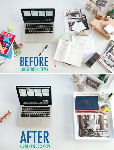 how to organize desk organize your desk the chic site