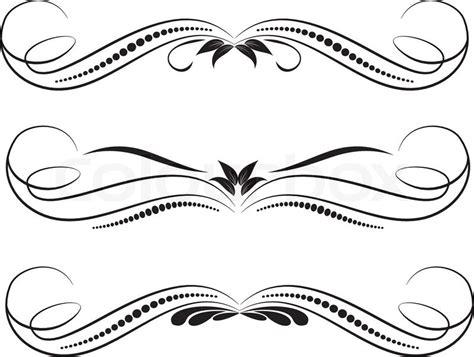 Victorian Style Home Plans quot vector decorative design elements amp page decor quot stock