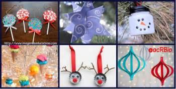 adornos arbol de navidad manualidades adornos para nuestro 193 rbol de navidad ideales para hacer