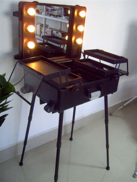 the light professionals china professional cosmetic trolley with l makeup