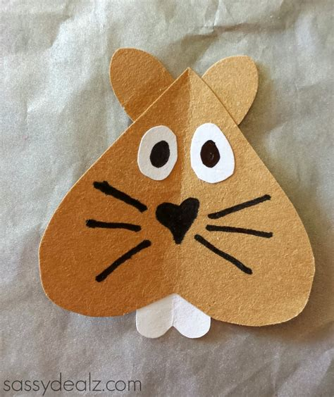 groundhog crafts for groundhogs day toilet paper roll craft for crafty