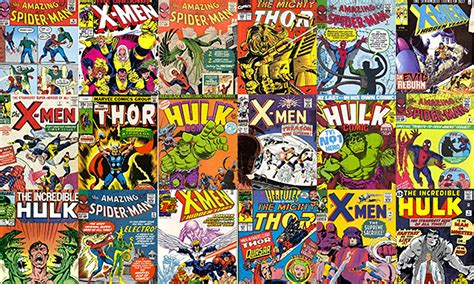comic books pictures every marvel comic is now for sale